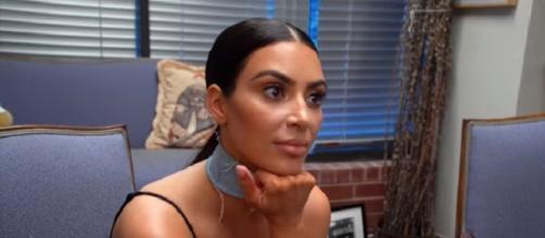 Kim Kardashian. (Image via YouTube screengrab/E!)