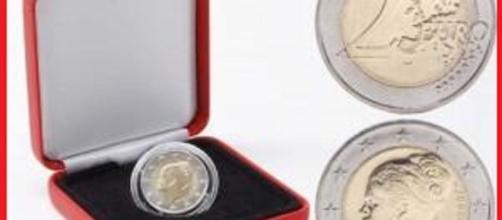 La rara moneta commemorativa di Grace Kelly