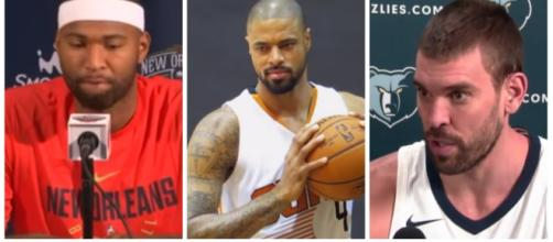 Marc Gasol, DeMarcus Cousins and Tyson Chandler could all end up in the East this season – image – Ximo Pierto/Youtube