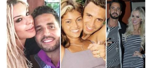Namoradas do cantor Latino ao longo da carreira