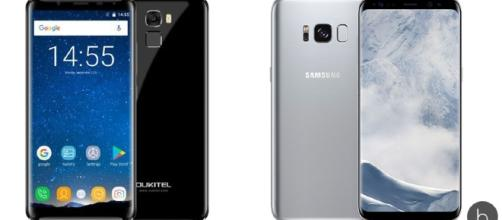 Oukitel K5000 compite contra Galaxy S8