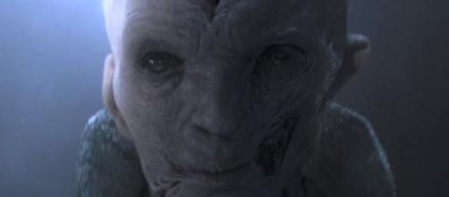 Supreme Leader Snoke of the First Order.[ Image Credit: Star Wars Coffee/Youtube]