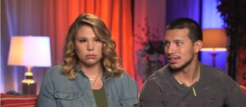 Teen Mom 2 stars Kailyn Lowry and Javi Marroquin. (Image via YouTube screengrab/WeTV)