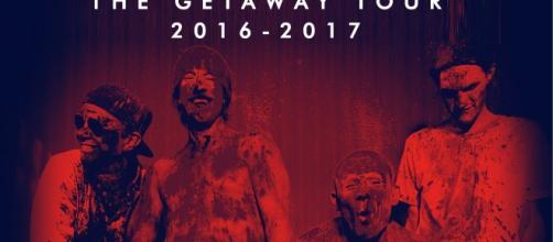 The Getaway World Tour 2016-2017. Imágenes cedidas por Gsus Grimoldi