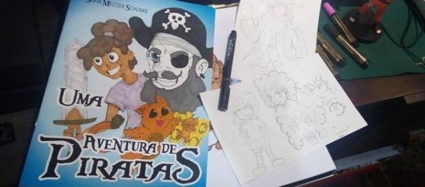 As ilustrações foram feitas por Natanael Ramos.