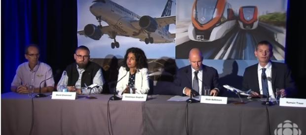 Bombardier announces partnership with Airbus - [Image credit - CBS | YouTube]