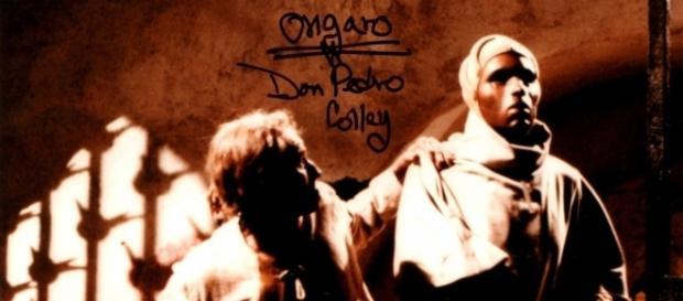 Charlton Heston e Don Pedro Colley