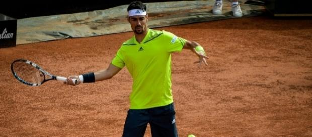 Italian tennis player Fabio Fognini. [Image Credit: The vhale/Flickr]