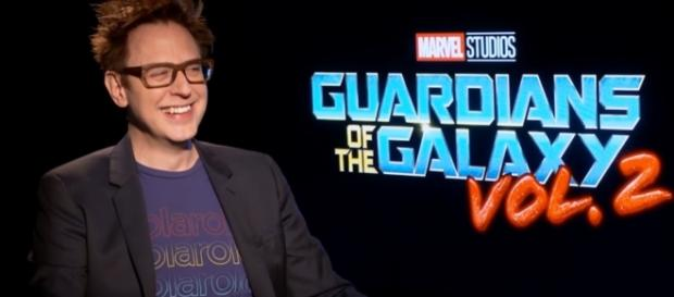 James Gunn, director of the Guardian of the Galaxy. (Photo Credit :Marvel Entertainment/ Youtube)