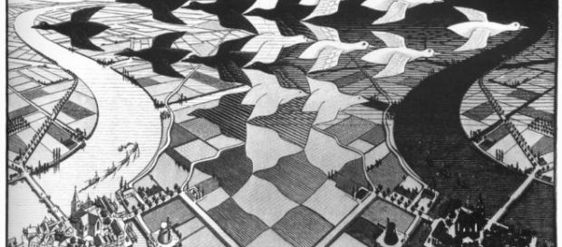 L'arte di Escher (foto da artwave.it)