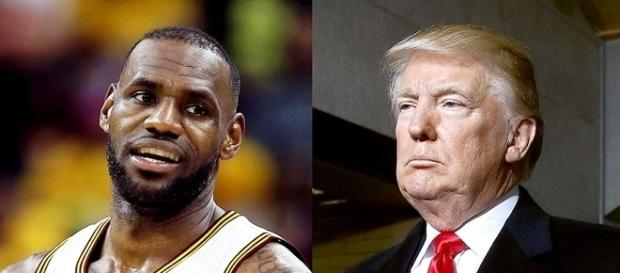 LeBron James, Donald Trump, via Twitter