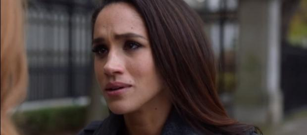 "Meghan Markle On ""Suits"" (Image Credit: BUILD Series/YouTube)"