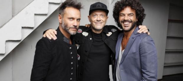 Nek, Max Pezzali e Francesco Renga