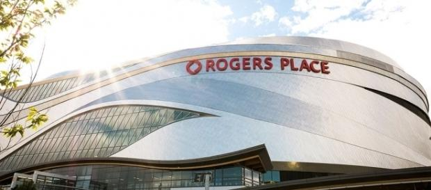Rogers Place Arena. [Image Credit: Alexscuccato/Wikimedia Commons]