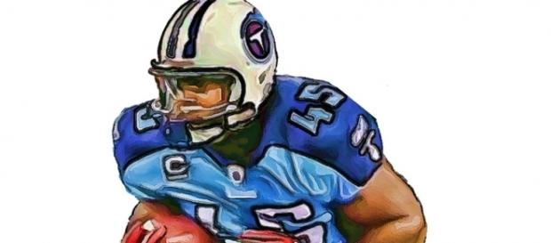 Tennessee Titans Ahmard Hall - Indianapolis Colts Kavell Conner [Image by Jack Kurzenknabe|Wikimedia Commons| Cropped | Public Domain Mark 1.0 ]