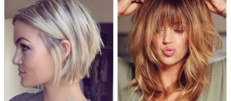 Foto tagli capelli medio lunghi 2018