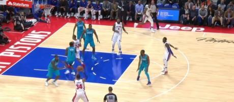 GAME RECAP Pistons 102, Hornets 90 via NBA tube channel