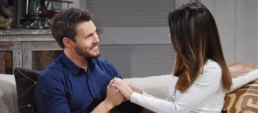 Beautiful: Liam e Steffy diventeranno marito e moglie.