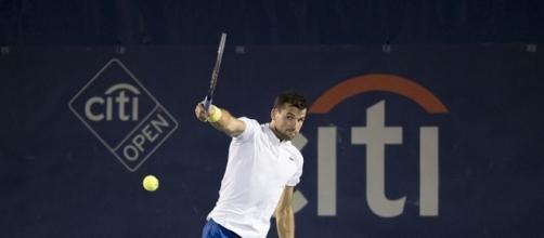 Bulgarian tennis player Grigor Dimitrov. Image Credit. Keith Allison/Flickr