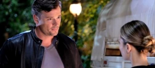 Chloe questions Marcus about his feelings in 'Lucifer' season 3 episode 4. [Image Credit: LuciChloe/YouTube]