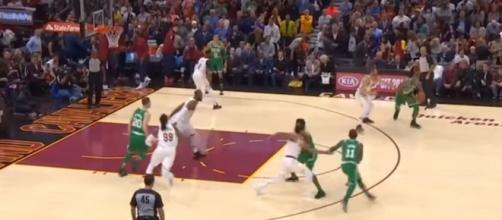 Cleveland Cavaliers vs Boston Celtics Full Game Highlights (via MLG Highlights/YouTube)