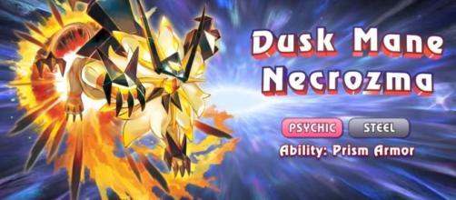 Dusk Mane Necrozma of Pokemon Ultra Sun. Image Credit: The Official Pokemon Youtube Channel/YouTube