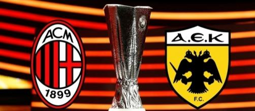 Europa League, Milan-AEK Atene