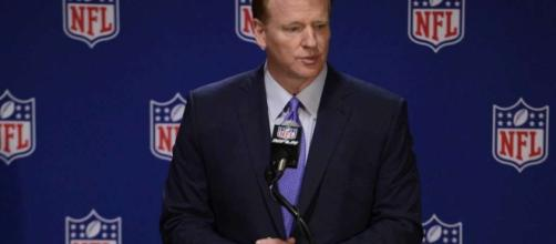 Goodell met with owners and players on anthem on Tuesday - Image Credit: DNN Deplorable News Network/YouTube