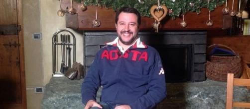 Il capo della Lega, Matteo Salvini