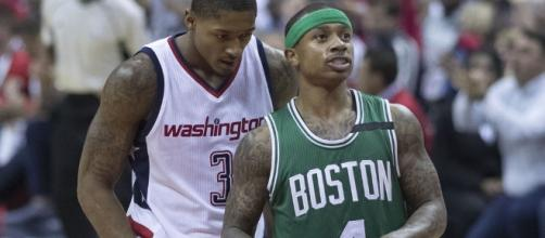 Isaiah Thomas talked about the Celtics trade. Image Credit: Keith Allison / Flickr