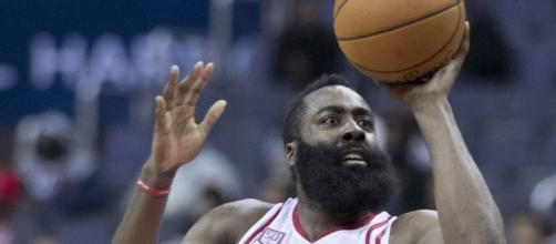 James Harden of Houston Rockets by Keith Allison, Wikipedia