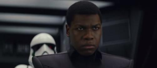 John Boyega as ex-Stormtrooper, Finn. [Image Credit: Youtube/Star Wars]