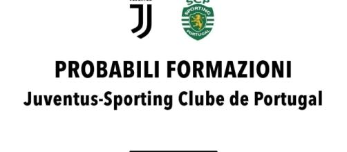 Juventus-Sporting Lisbona: probabili formazioni, radiocronaca e ... - radiogoal24.it