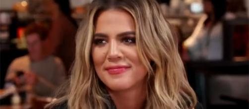 Khloe Kardashian hasn't confirmed nor denied her rumored pregnancy. (Entertainment Tonight/YouTube)