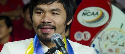 Manny Pacquiao leaves Top Rank guessing on whether he will fight or retire/ photo by inboundpass/ Flickr
