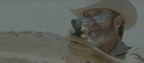 Marshal Hilton plays the part of a lawman in 'Bunnyman Vengeance'. (Image Credit: Photo via Clint Morris, October Coast; used with permission.)