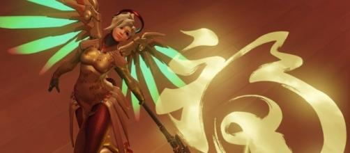 """""""Overwatch"""" Mercy alternate concept art has been revealed. Image Credit: Blizzard Entertainment"""