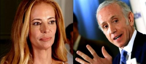 Paula Vázquez y Eduardo Inda en