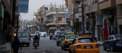 Raqqah, Syria, town center north of clock tower (Image credit: Bertramz/Wikimedia Commons)