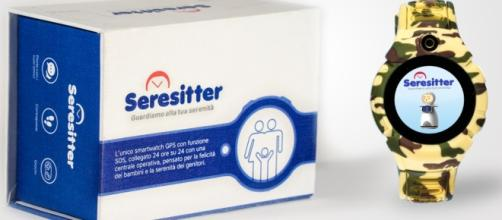 Seresitter, lo smartwatch che tutela genitori e figli (Fonte: https://www.seresitter.it/)