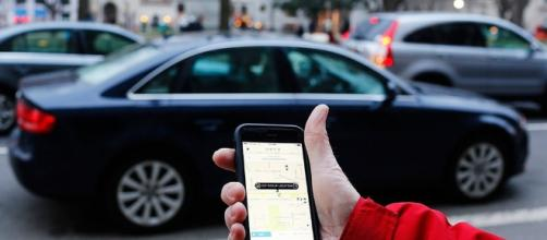 Summoning an Uber [imagh courtesy of Mark Warner flickr]