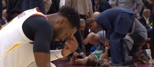 The 5 most gruesome NBA injuries (Video) NBA [Conference / YouTube screencap]