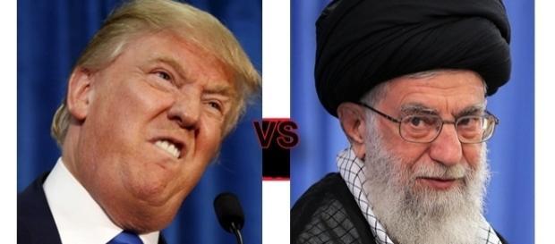 """Donald Trump catalogat drept """"brută prezidențială"""" de către liderul suprem din Iran - Foto: colaj Creative Commons"""