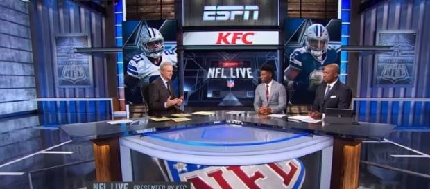 Ezekiel Elliott is the talk of the NFL world heading into Week 7. -- YouTube screen capture / ESPN