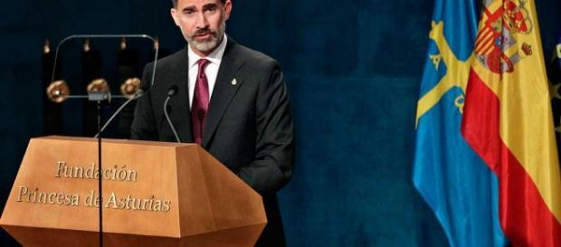 Felipe VI en los premios Príncipes de Asturias