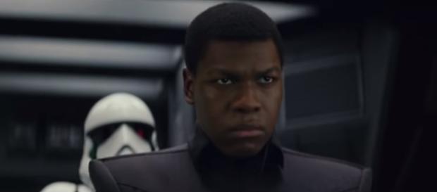 John Boyega as ex-Stormtrooper, Finn. [Image Credit: Youtube/Star Wars]