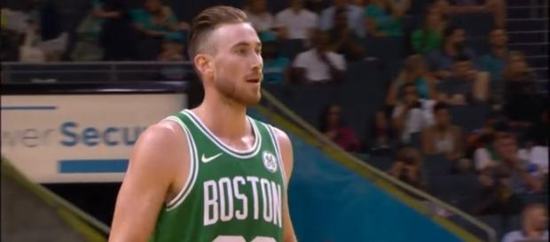 Kyrie Irving, Gordon Hayward, & Al Horford Combine for 44 Against The Hornets from YouTube/NBA
