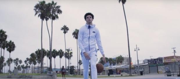 Lakers rookie Lonzo Ball is ready for the Clippers' Patrick Beverley -- SLAM via YouTube