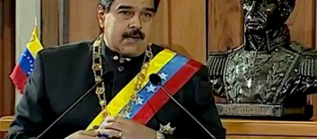 Nicolás Maduro por Government of Venezuela/Wikimedia Commons