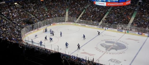 Rogers Arena, home of the Vancouver Canucks (Wikimedia Commons/kallerna)